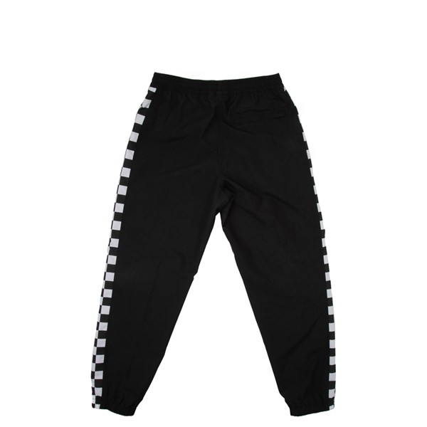 alternate view Mens Vans BMX Off The Wall Track Pants - Black / WhiteALT1