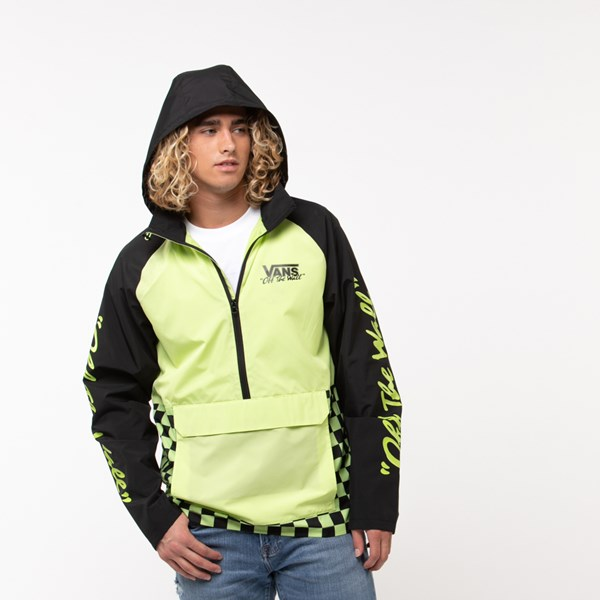 Mens Vans BMX Off The Wall Anorak Jacket - Sharp Green / Black
