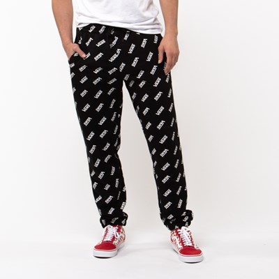 Main view of Mens Vans Distorted Fleece Pants