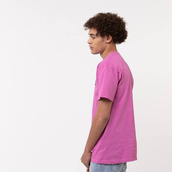 alternate view Mens Vans Classic Drop V Crew Tee - FuchsiaALT2