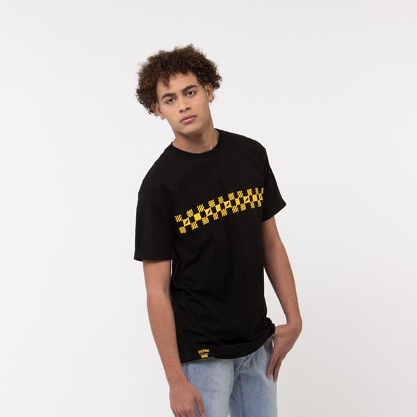 Mens Vans x Harry Potter Hufflepuff Tee - Black / Yellow