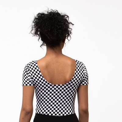 Alternate view of Womens Vans Checkerboard Bodysuit