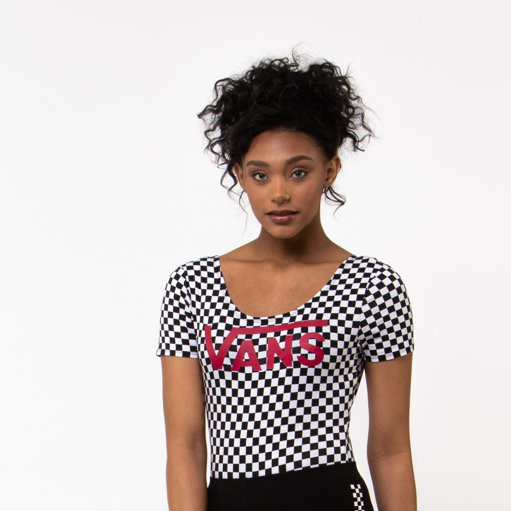 Womens Vans Checkerboard Bodysuit
