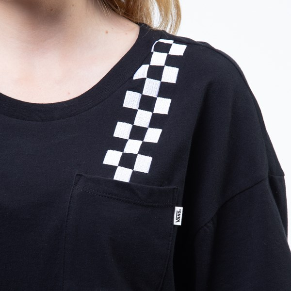 alternate view Womens Vans Fun Badge Cropped TeeALT4