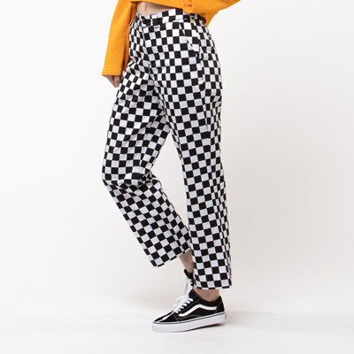 Alternate view of Womens Vans Checkered Authentic Chino Pant