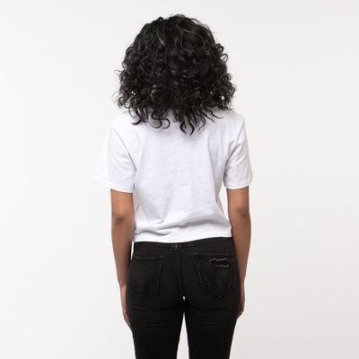 Alternate view of Womens Vans Botanic Cropped Tee