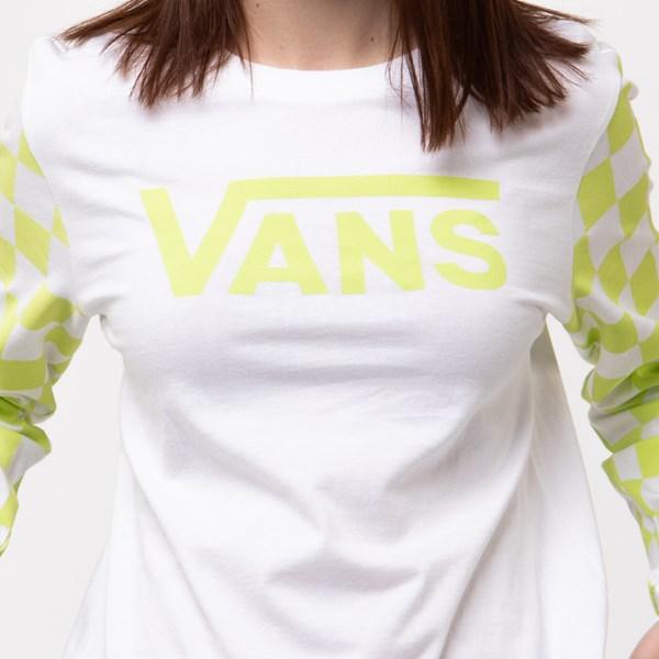 alternate view Womens Vans Big Bold Long Sleeve DIY Boyfriend TeeALT4