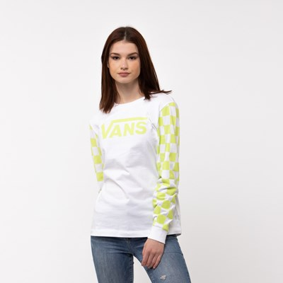 Main view of Womens Vans Big Bold Long Sleeve DIY Boyfriend Tee