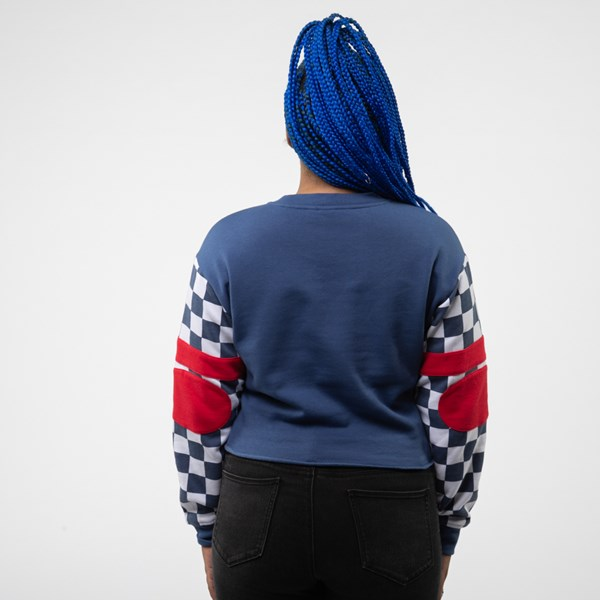 alternate view Womens Vans BMX Cropped Crew SweatshirtALT2