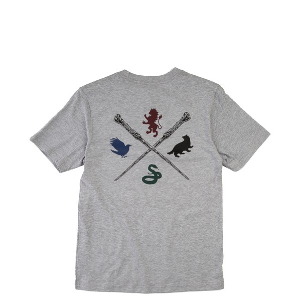Alternate view of Vans x Harry Potter Hogwarts Crest Tee - Little Kid - Gray