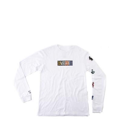 Main view of Vans x Harry Potter Four Houses Long Sleeve Tee - Little Kid - White