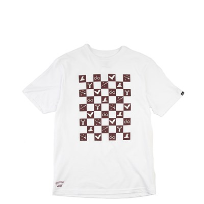 Main view of Vans x Harry Potter Icon Checkerboard Tee - Little Kid - White