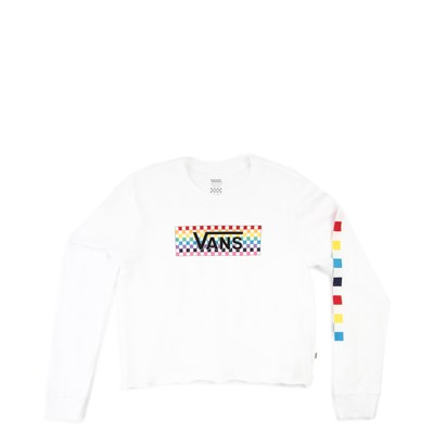 Main view of Vans Tangle Cropped Long Sleeve Tee - Girls Little Kid