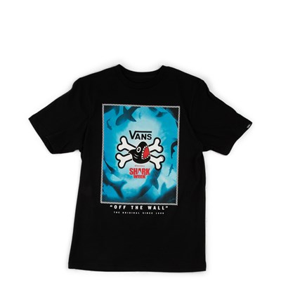 Main view of Vans x Discovery's Shark Week Tee - Little Kid - Black