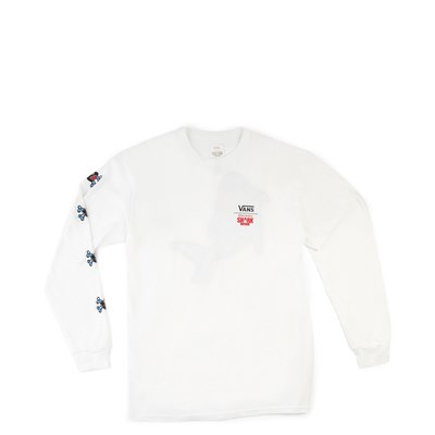 Main view of Vans x Discovery's Shark Week Long Sleeve Tee - Little Kid