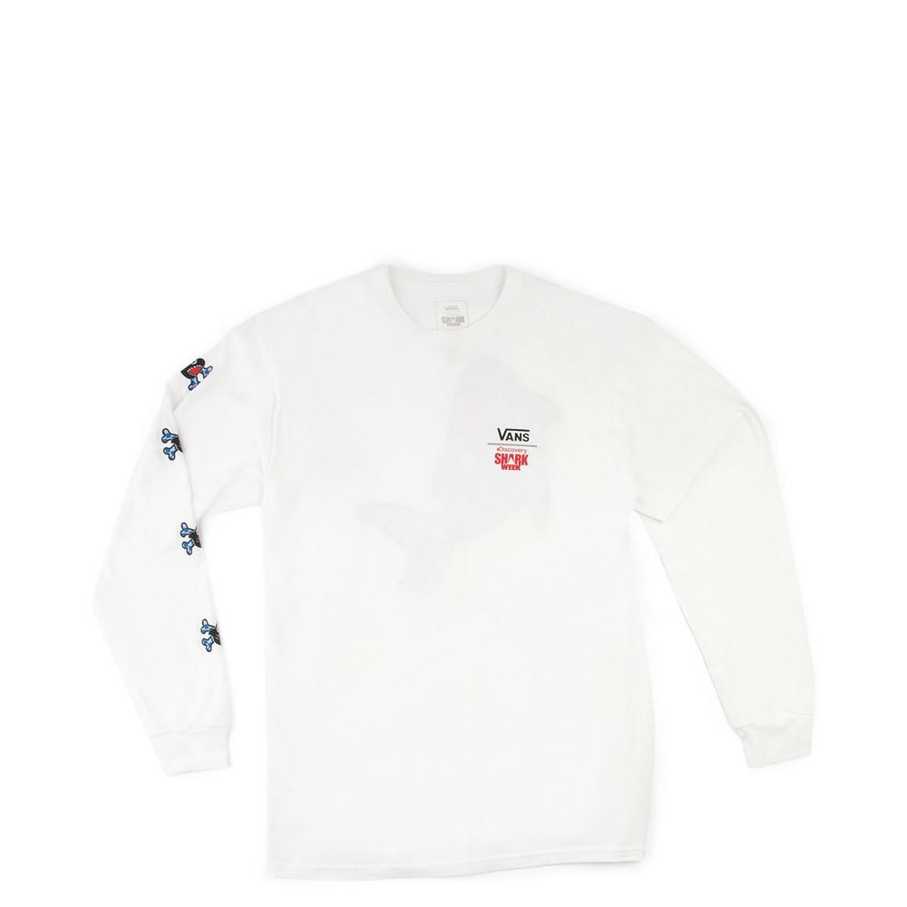 Vans x Discovery's Shark Week Long Sleeve Tee - Little Kid