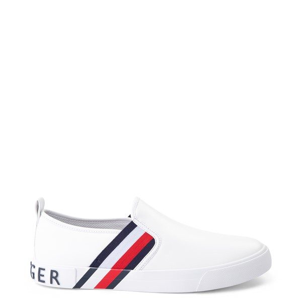 Womens Tommy Hilfiger Julian Slip On Casual Shoe - White