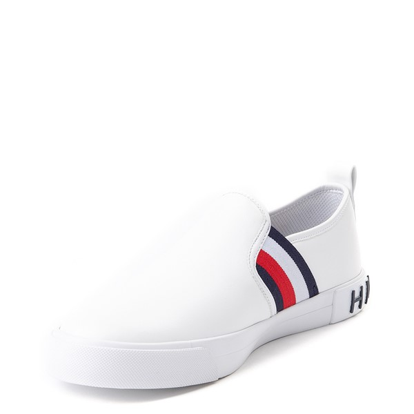 alternate view Womens Tommy Hilfiger Julian Slip On Casual Shoe - WhiteALT2
