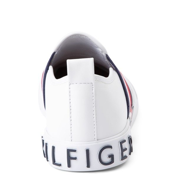 alternate view Womens Tommy Hilfiger Julian Slip On Casual Shoe - WhiteALT4