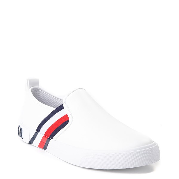 alternate view Womens Tommy Hilfiger Julian Slip On Casual Shoe - WhiteALT5