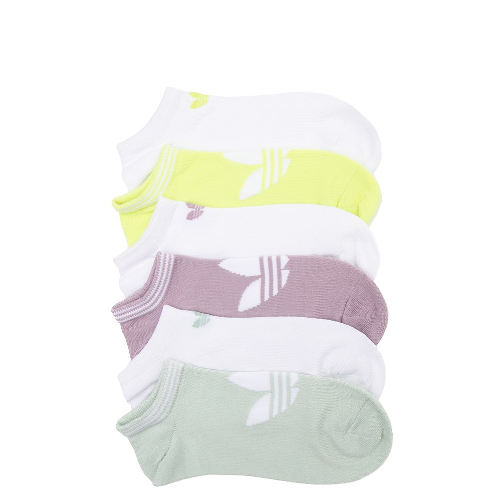 Womens adidas Trefoil Liners 6 Pack - Multi
