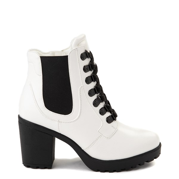 Womens MIA Almina Boot - White / Black