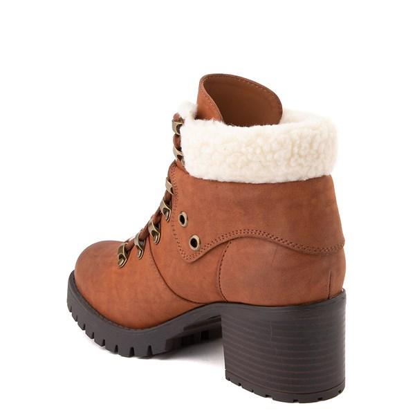 alternate view Womens MIA Tallia Hiker Boot - LuggageALT2