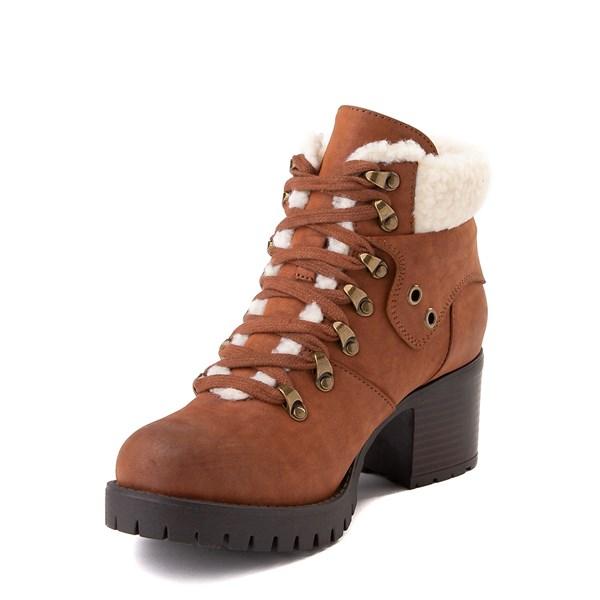alternate view Womens MIA Tallia Hiker Boot - LuggageALT3
