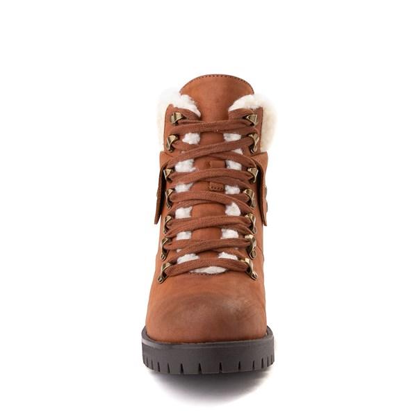 alternate view Womens MIA Tallia Hiker Boot - LuggageALT4
