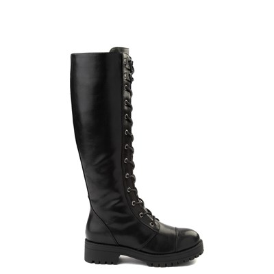 Main view of Womens Dirty Laundry Vandal Tall Combat Boot - Black