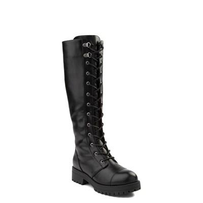 Alternate view of Womens Dirty Laundry Vandal Tall Combat Boot - Black