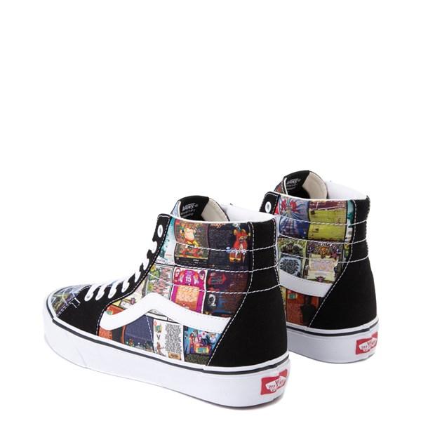 alternate view Vans Sk8 Hi Warped Tour 25th Anniversary Skate ShoeALT2