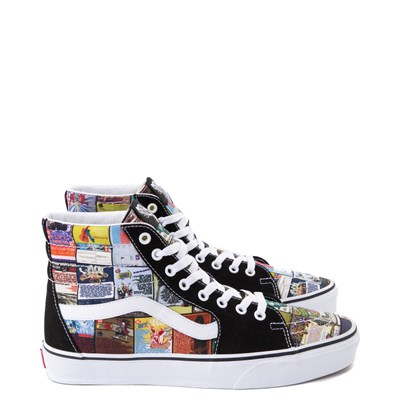 Main view of Vans Sk8 Hi Warped Tour 25th Anniversary Skate Shoe
