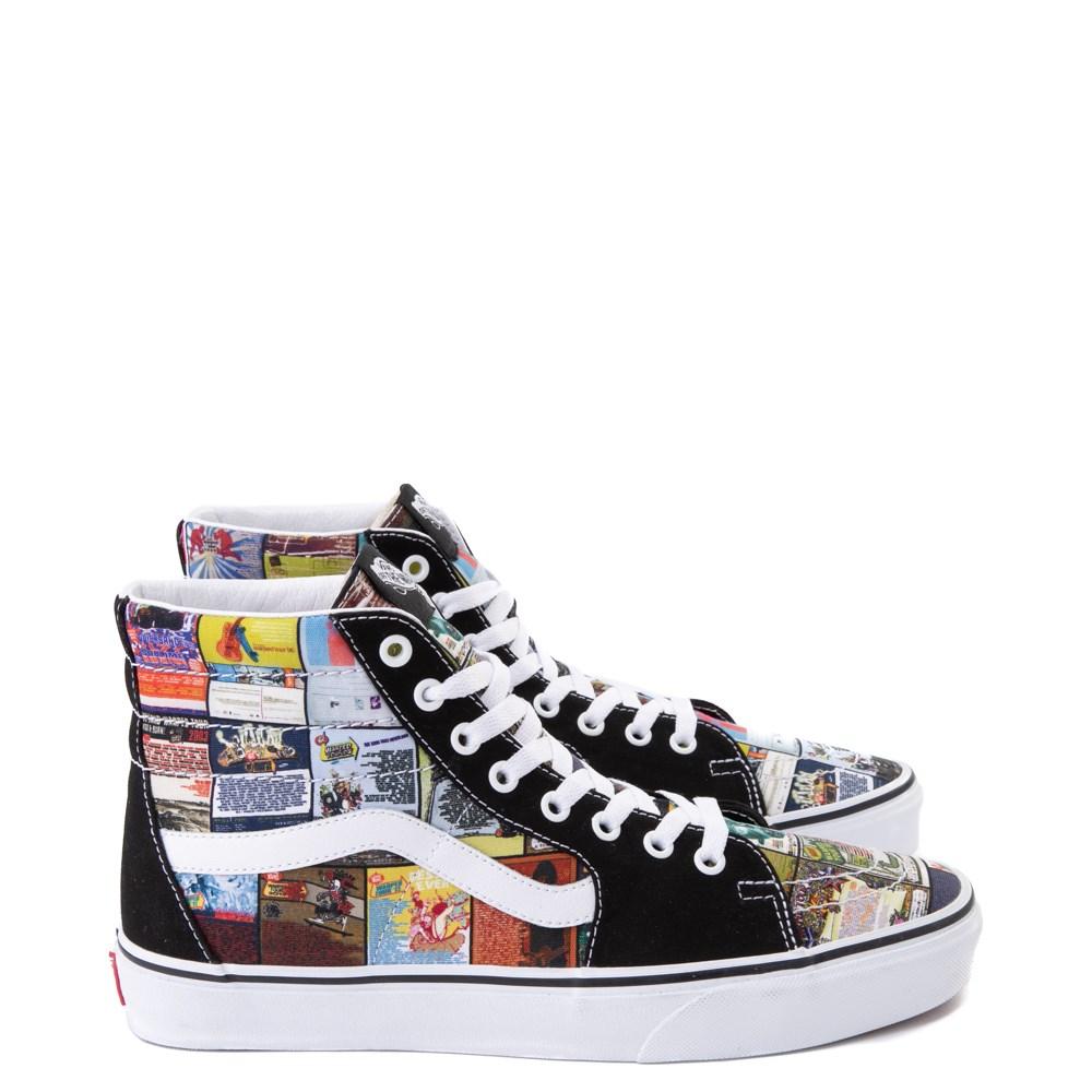 Vans Sk8 Hi Warped Tour 25th Anniversary Skate Shoe