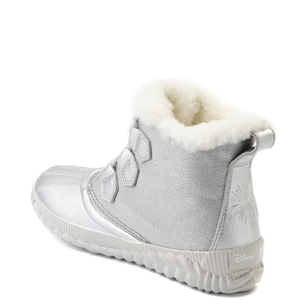 alternate view Womens Disney x Sorel Frozen 2 Out N About™ Plus Boot - Pure SilverALT2