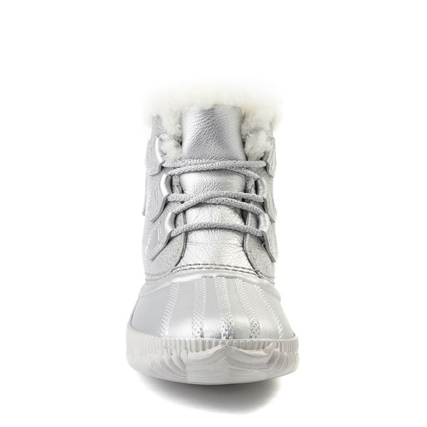 alternate view Womens Disney x Sorel Frozen 2 Out N About™ Plus Boot - Pure SilverALT4