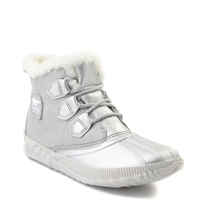 Alternate view of Womens Disney x Sorel Frozen 2 Out N About™ Plus Boot - Pure Silver