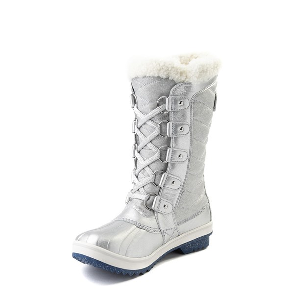 alternate view Womens Disney x Sorel Frozen 2 Tofino™ II Boot - Pure SilverALT3