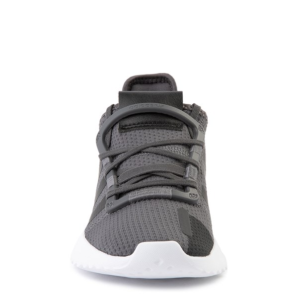 alternate view adidas U_Path Run Athletic Shoe - Little Kid - Gray / BlackALT4