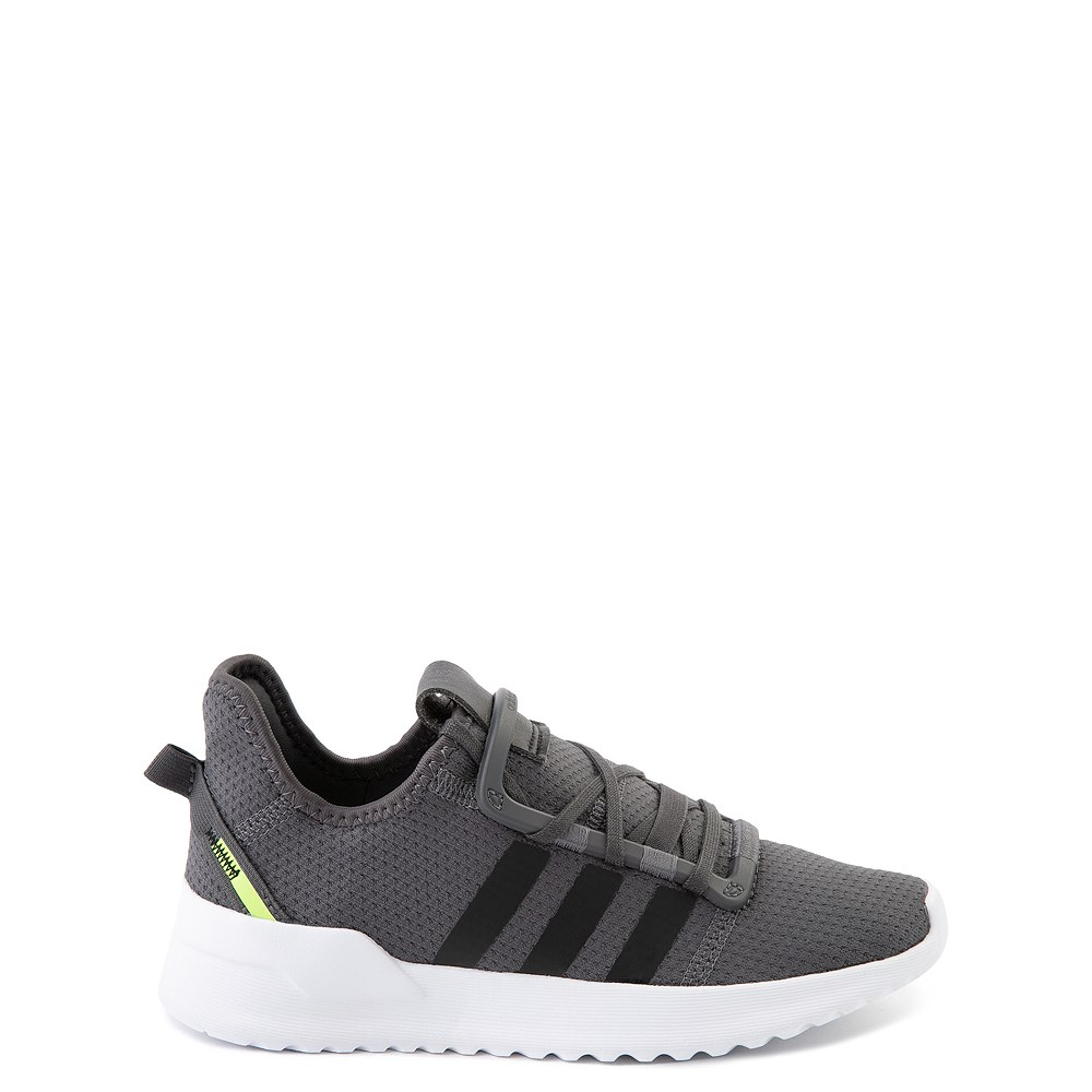 adidas U_Path Run Athletic Shoe - Little Kid - Gray / Black