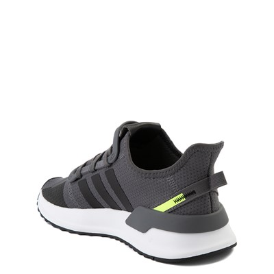 Alternate view of adidas U_Path Run Athletic Shoe - Big Kid - Gray / Black