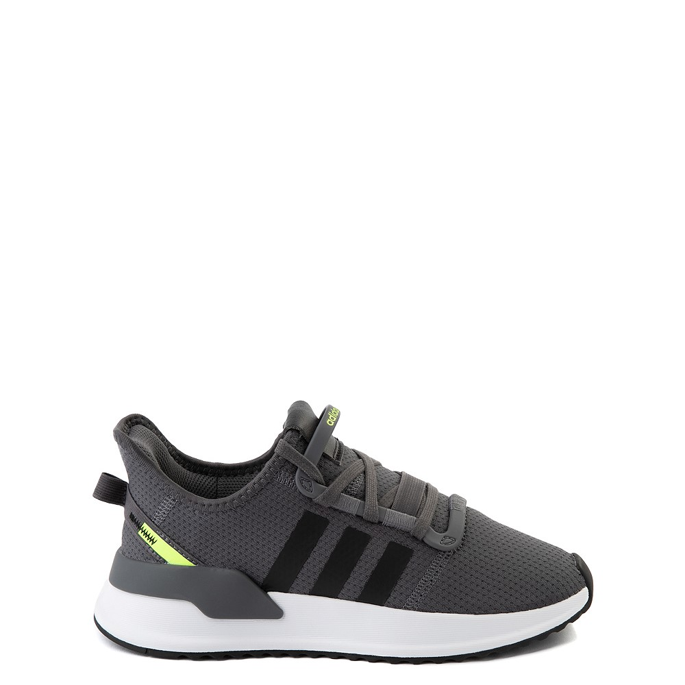 adidas U_Path Run Athletic Shoe - Big Kid - Gray / Black