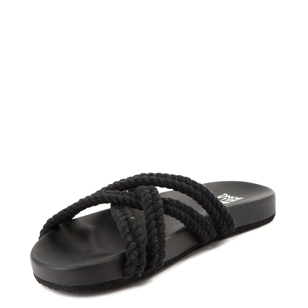 d5d36b5e9 Womens Billabong Rope Tide Slide Sandal