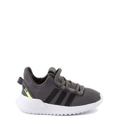 Main view of adidas U_Path Run Athletic Shoe - Baby / Toddler - Gray / Black
