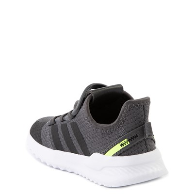 Alternate view of adidas U_Path Run Athletic Shoe - Baby / Toddler - Gray / Black