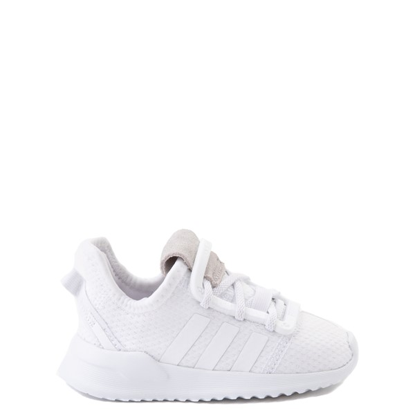 adidas U_Path Run Athletic Shoe - Baby / Toddler - White Monochrome