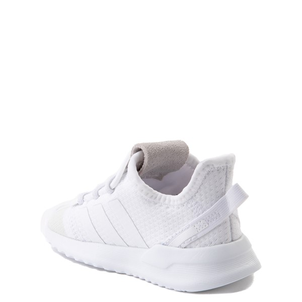 alternate view adidas U_Path Run Athletic Shoe - Baby / Toddler - White MonochromeALT1