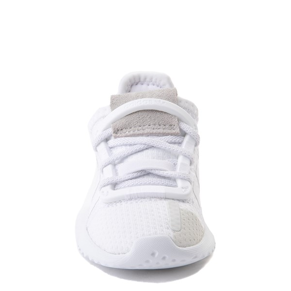alternate view adidas U_Path Run Athletic Shoe - Baby / Toddler - White MonochromeALT4