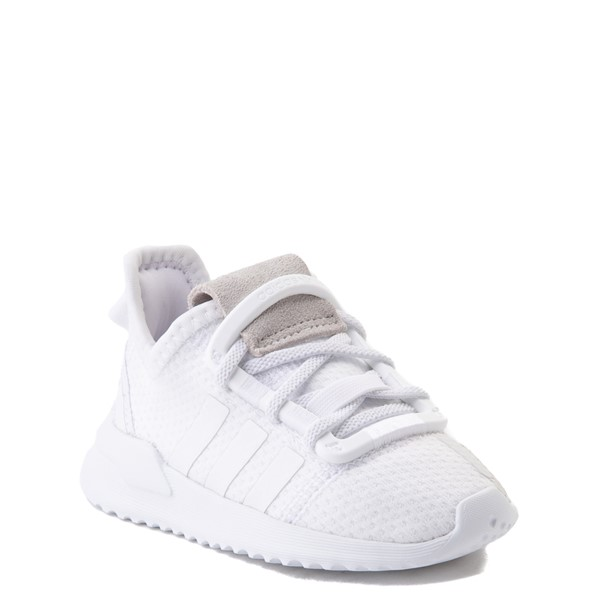alternate view adidas U_Path Run Athletic Shoe - Baby / Toddler - White MonochromeALT5