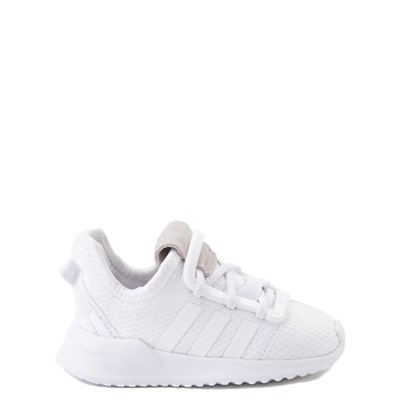Main view of adidas U_Path Run Athletic Shoe - Baby / Toddler - White Monochrome